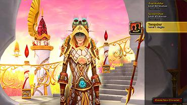 how to choose customize avatar blizzard net