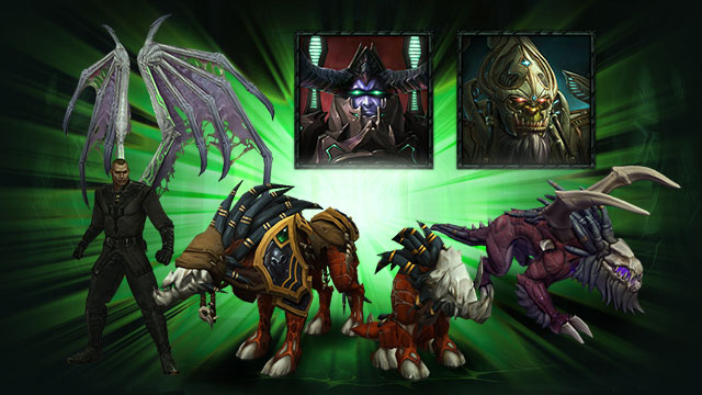 World of Warcraft: Legion - Oggetti dell'Edizione digitale deluxe