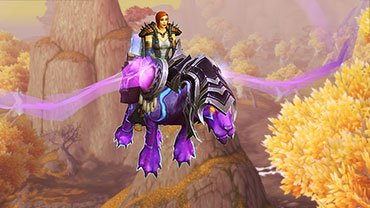 Warlords of Draenor: Mystic Runesaber - Ugly new mount