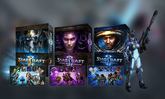StarCraft® II: Campaign Collection - StarCraft II | Blizzard Shop